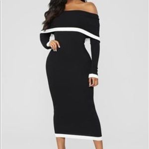 Dresses & Skirts - Classy off the shoulders dress